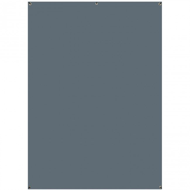 5' x 7' Natural Gray Wrinkle-Resistant X-Drop Backdrop (1.5 x 2.1m)