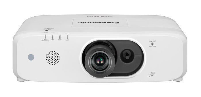 4500 Lumen WXGA LCD Compact Projector in White
