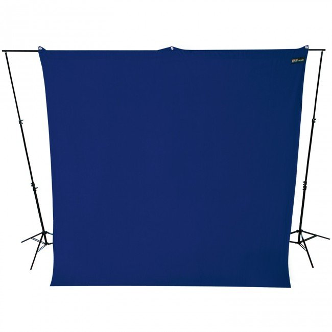 9' x 10' Chroma-Key Blue Screen Backdrop (2.7 m x 3 m)