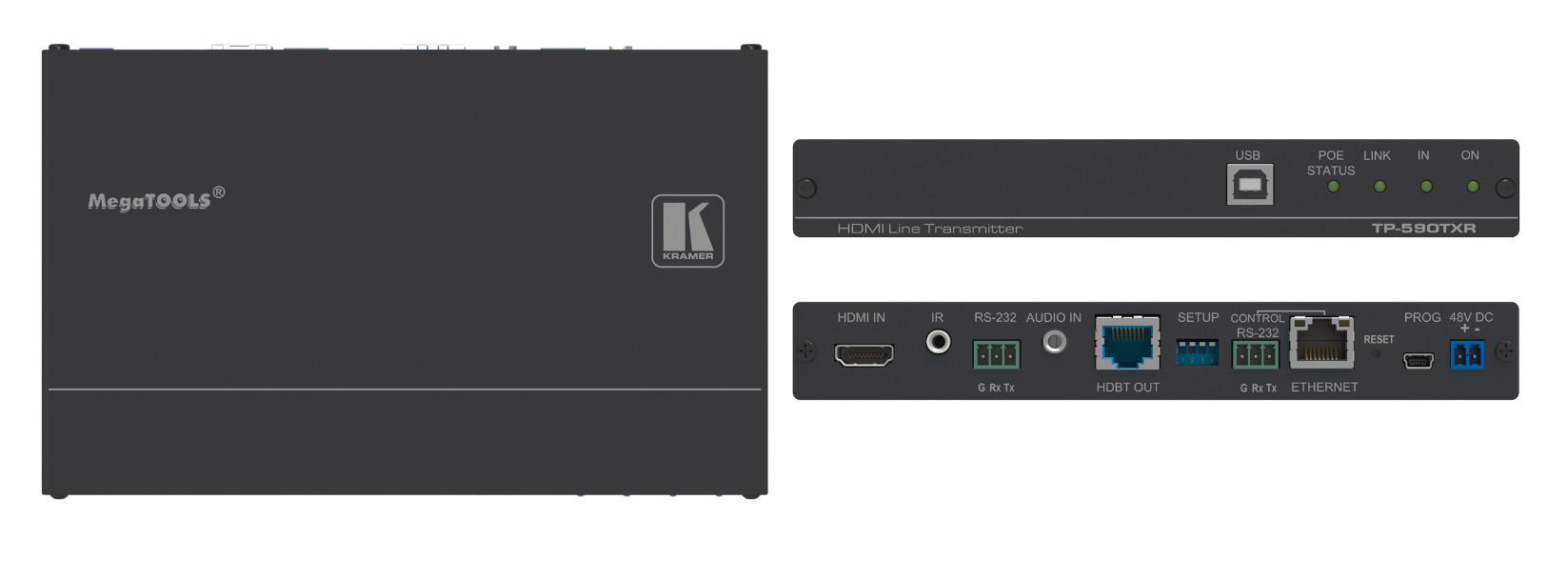 4K UHD HDMI HDBaseT Line Transmitter