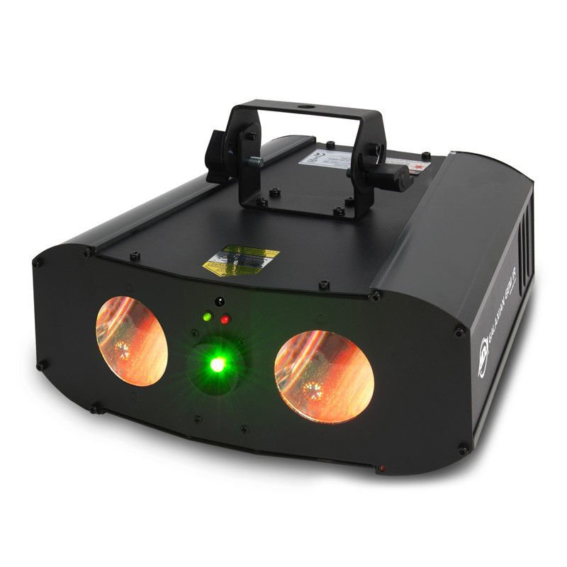 Dual Effect, LED and Laser with IR Control