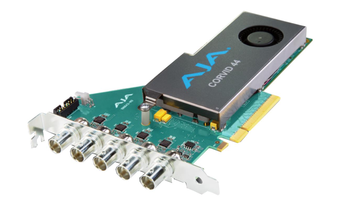 AJA Video Systems Inc CRV44-BNC-R0 8-lane PCIe 2.0, 4 x SDI on Full Size BNC CRV44-BNC-R0