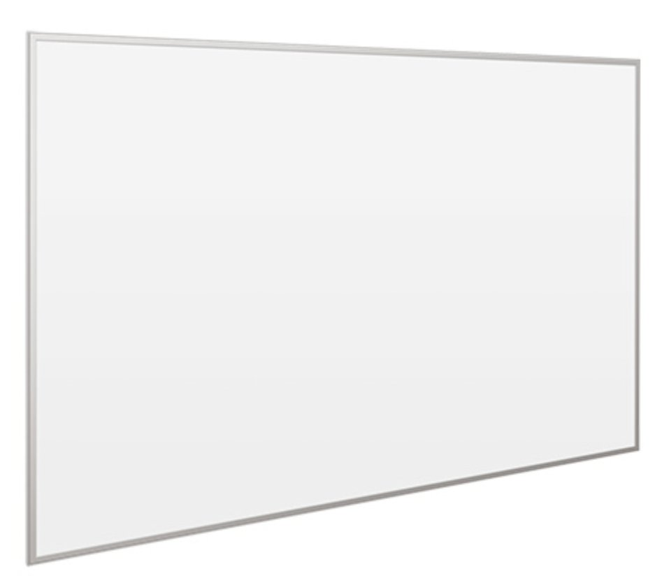 "100"" Whiteboard for Projection and Dry-Erase"