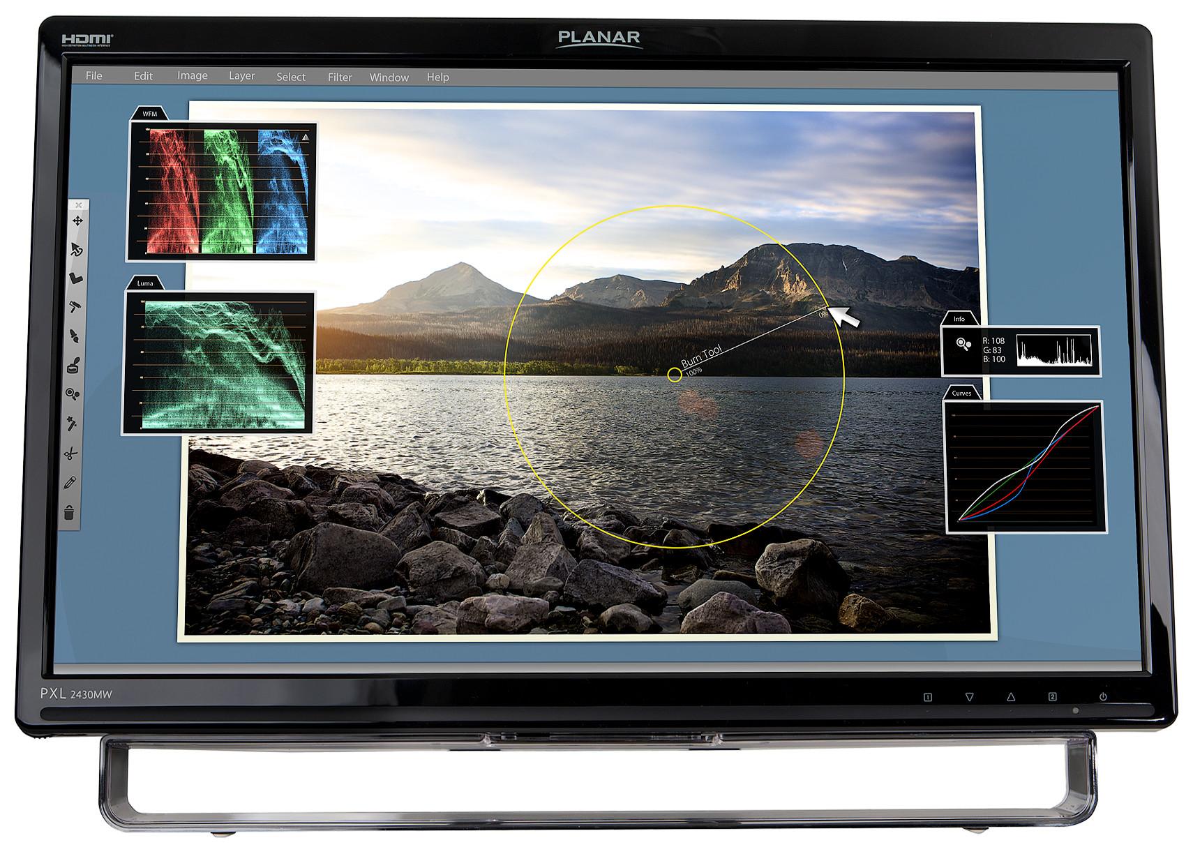 "24"" Optical Touchscreen Monitor"