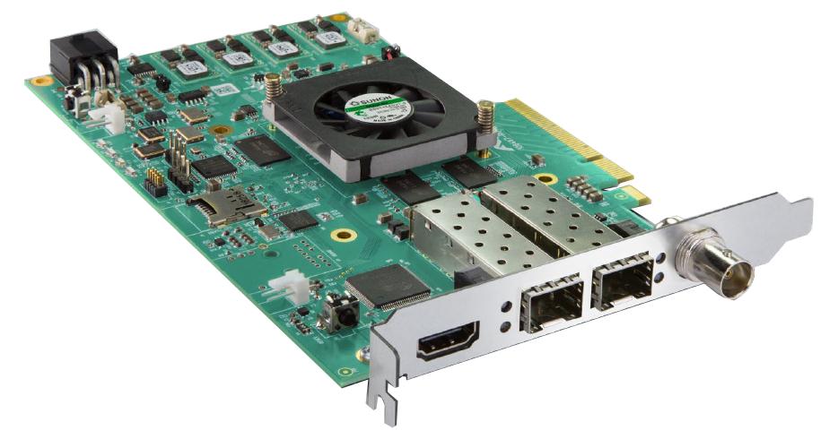 IP Video/Audio I/O card
