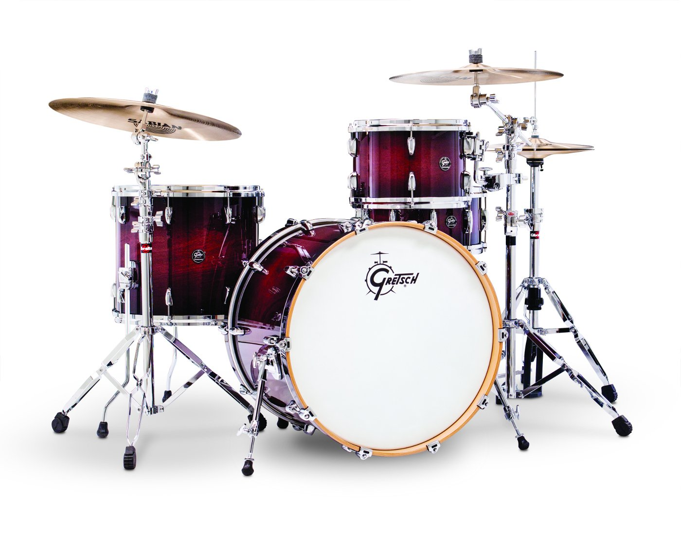 "5-piece Shell Kit, 7""x10""/8""x12""/14""x14""/16""x20""/5.5""x14"" Snare"