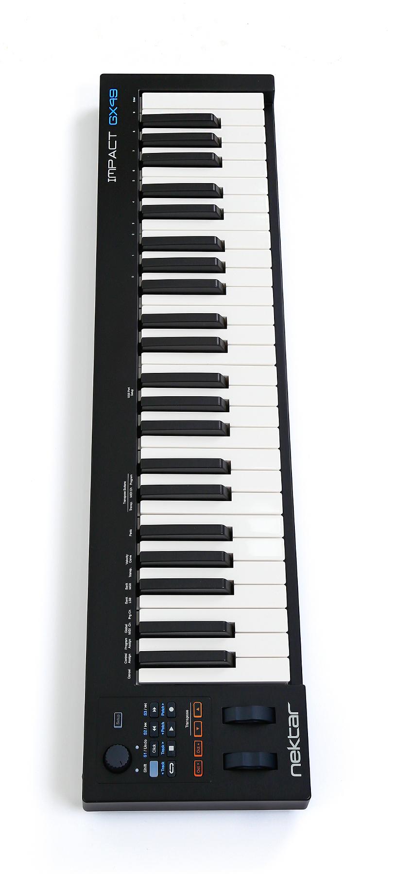 49-Key USB MIDI Controller with DAW Integration