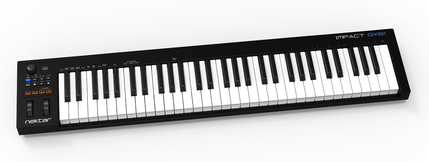 61-Key USB MIDI Controller with DAW Integration