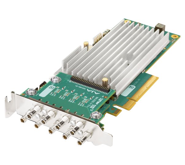 8-lane PCIe 2.0, 4 x SDI, Fanless Version with No Cables