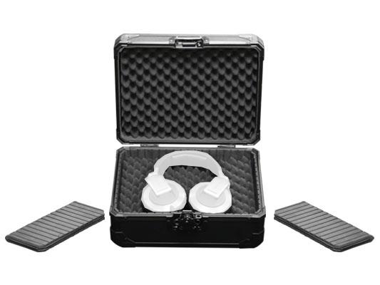 Black Krom Series Utility Headphones Case