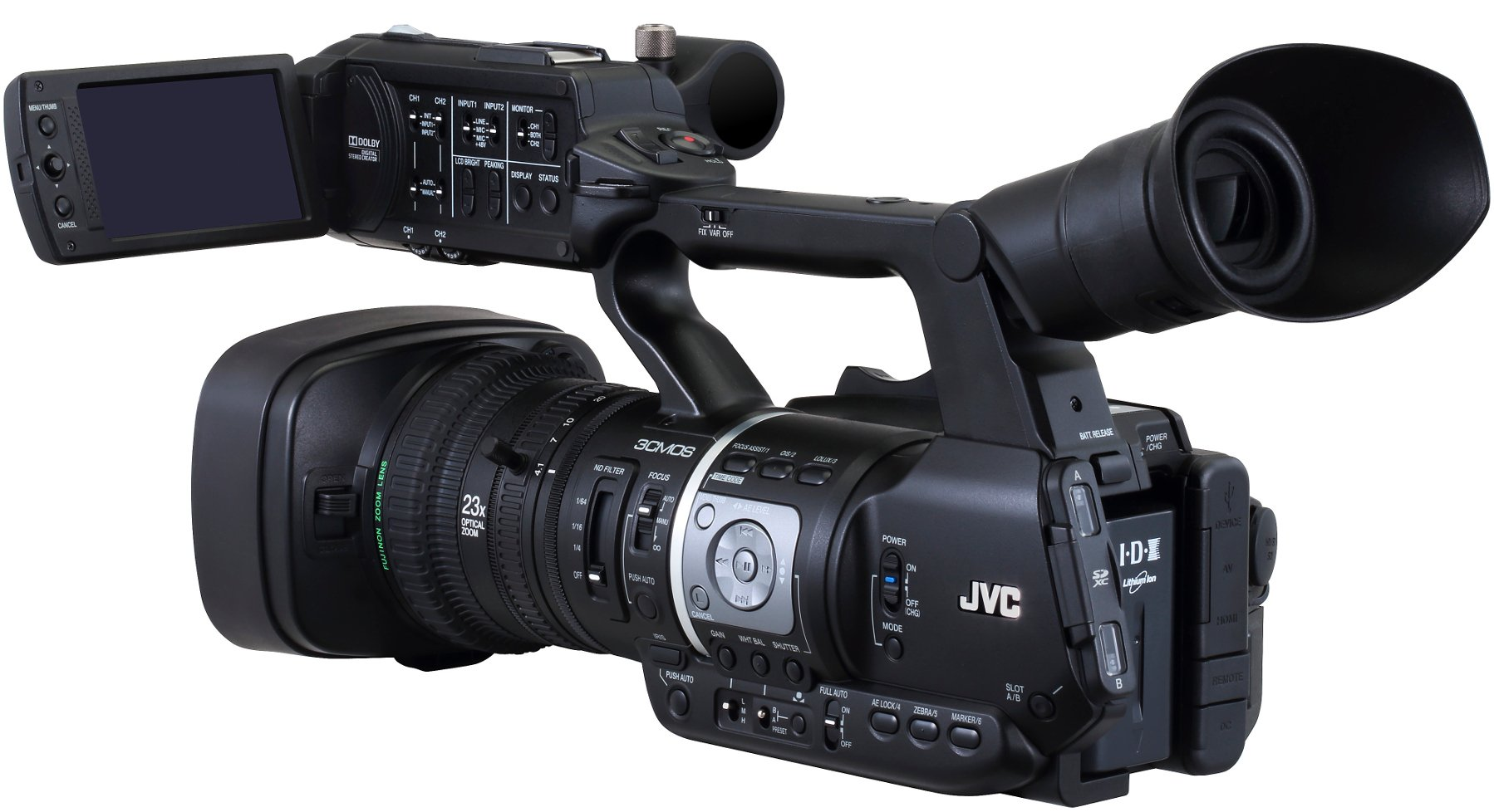 Mobile News Camera with 23x Lens