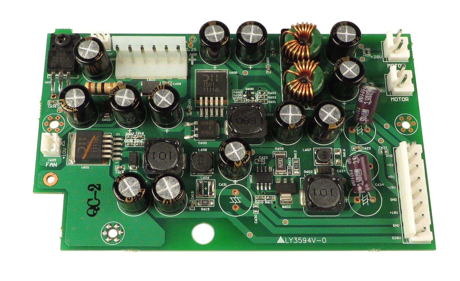 NS7 Power Regulator PCB Assembly