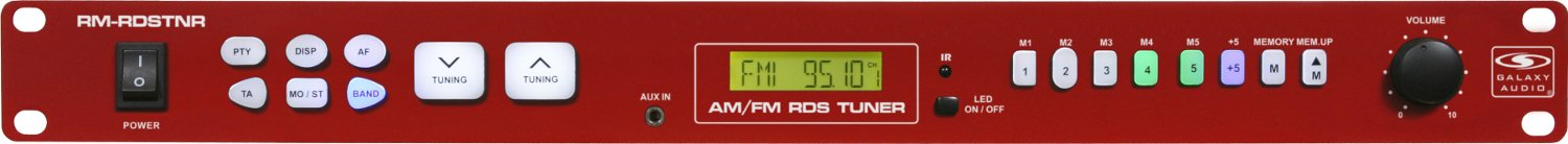 AM/FM Tuner with Radio Data System