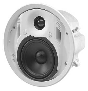 "Ceiling Speaker, Two-Way, 4"" Woofer, 30W, Priced Each, Sold In Pairs"