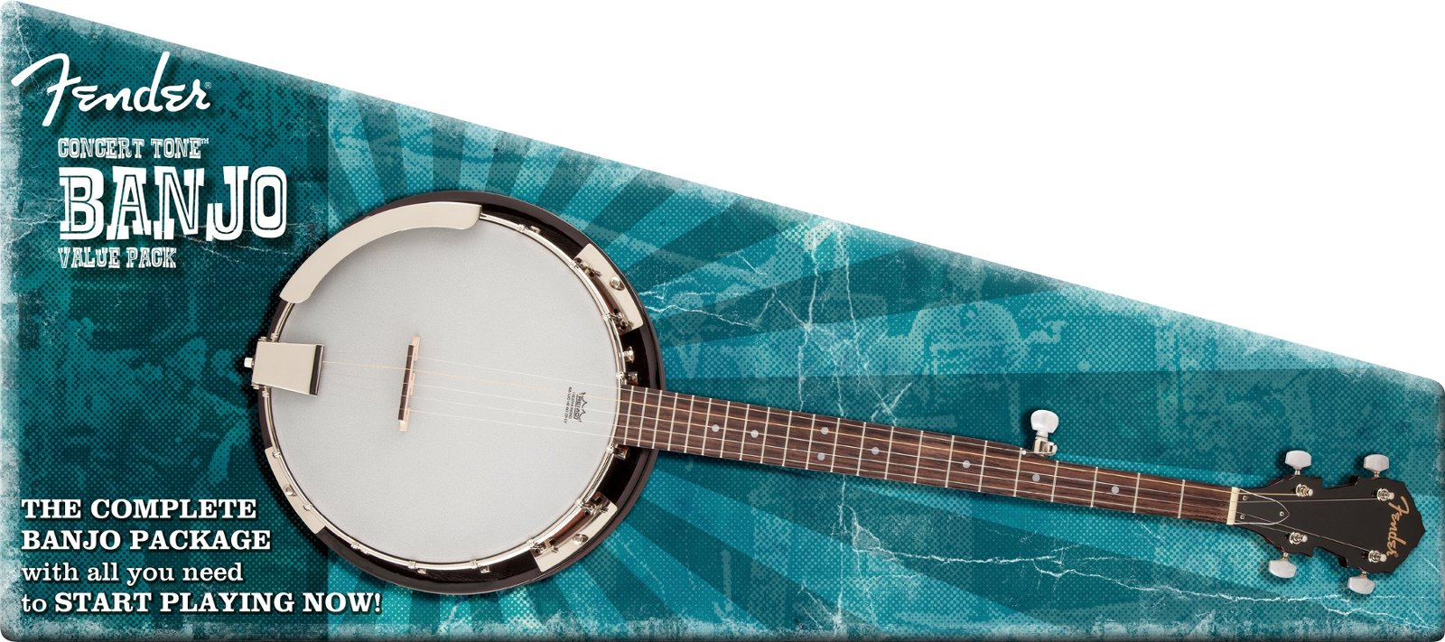 Five-String Banjo with Accessories
