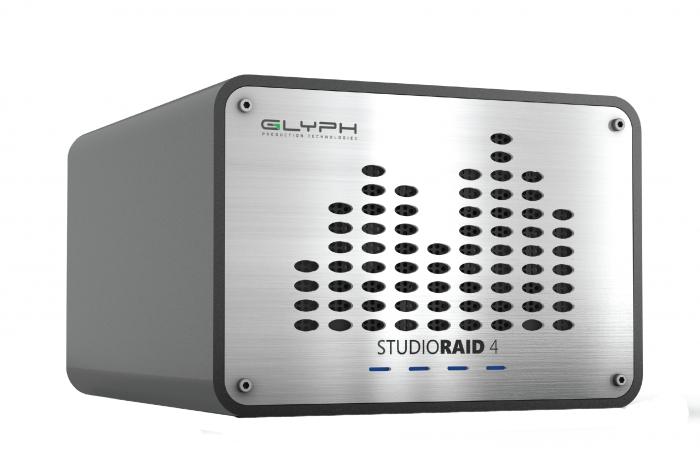 Glyph Technologies StudioRAID 4 External RAID 8TB Hard Drive, USB 3.0/FireWire 800/eSATA Compatible SRF8000