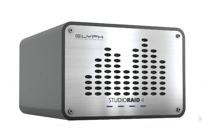 Glyph Technologies StudioRAID 4 External RAID 16TB Hard Drive, USB 3.0/FireWire 800/eSATA Compatible SRF16000
