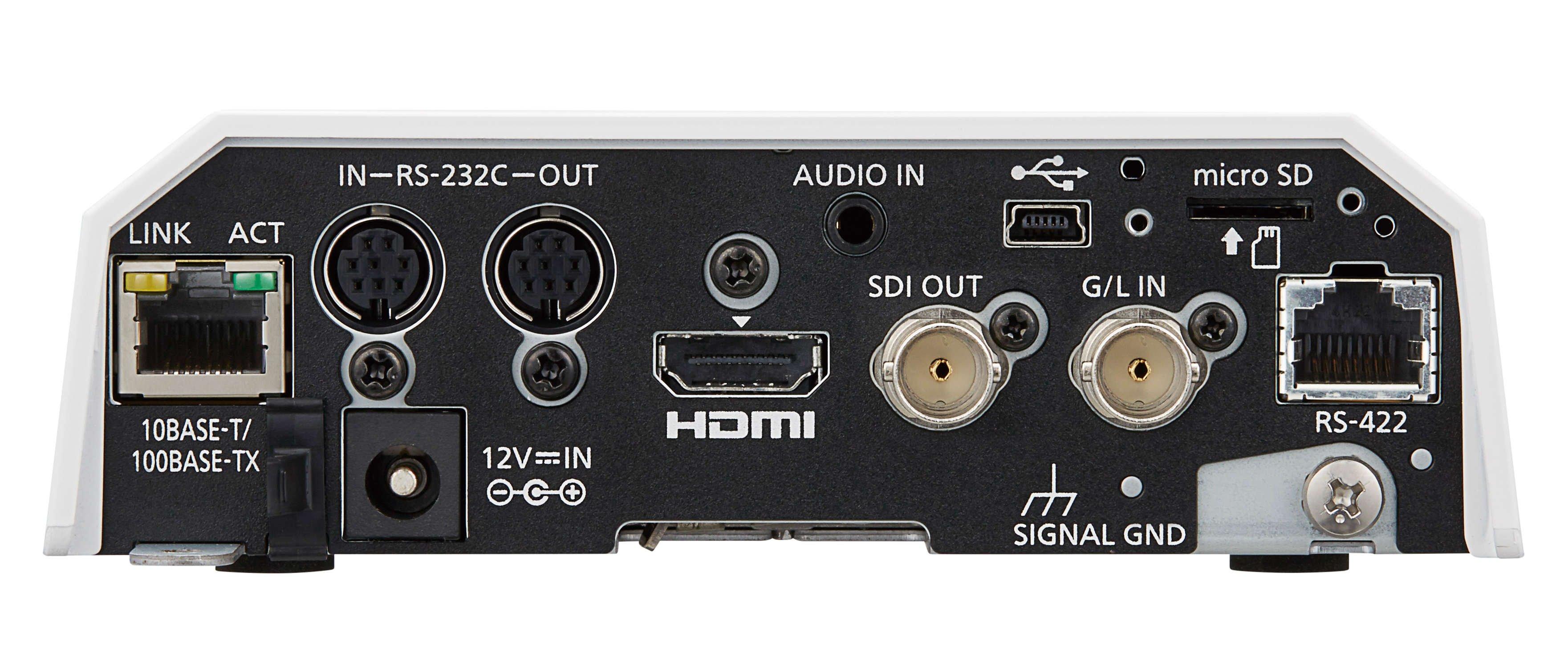Black 4K Camera, 22x PTZ with HDMI