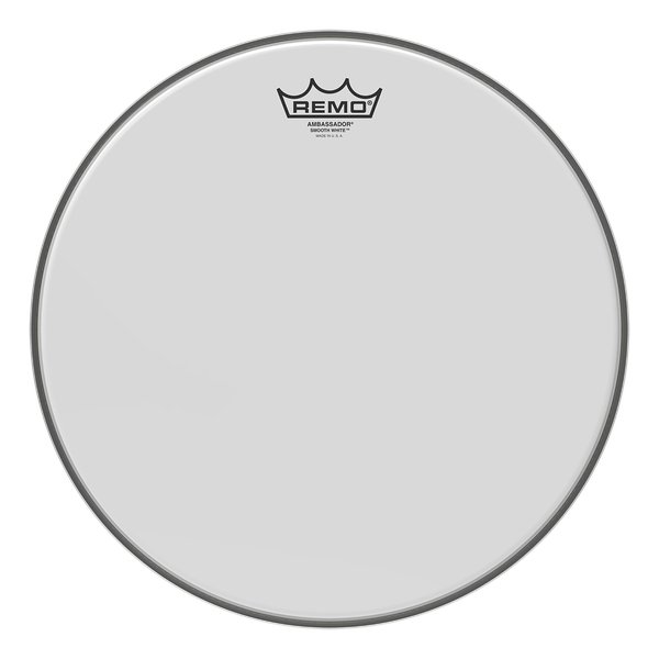 "Remo Ambassador Smooth White 12"" Drumhead BA021200-U"