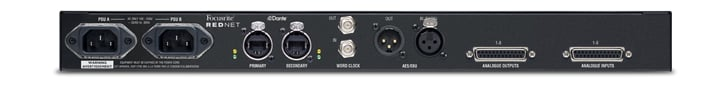 Focusrite Pro RedNet A8R 8-Channel  Line-Level Dante AD/DA With Network And PSU Redundancy REDNET-A8R