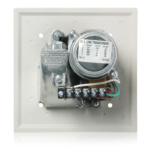 Voice/Tone™ Recessed Compression Driver Loudspeaker 70.7V 15 W - Neutral Gray