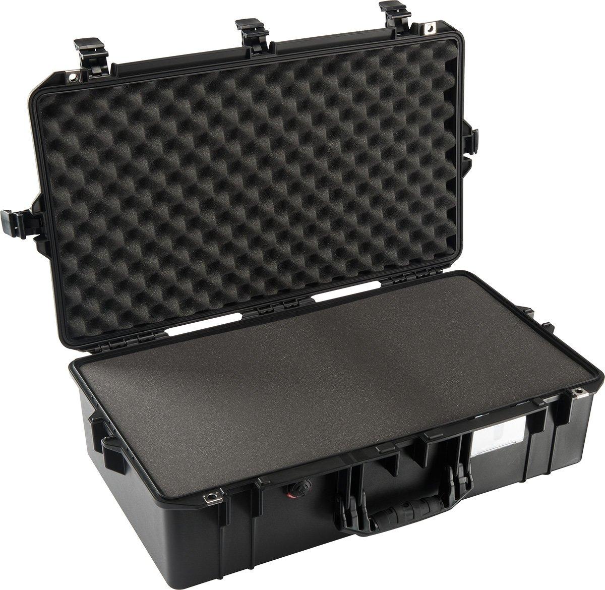 Air Case with Interior Foam, Black