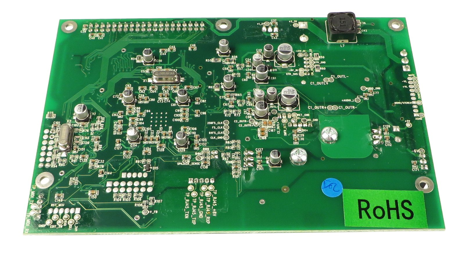 Main PCB with DSP for Spider Valve 112 MkII