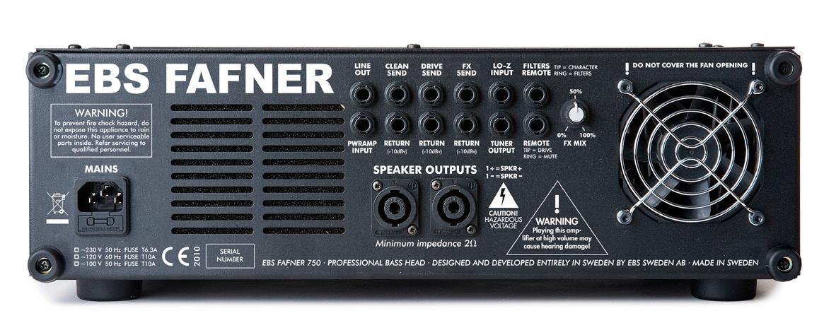 Dual Channel Bass Amp, 750 Watt