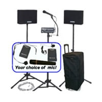 AmpliVox SW230A-05 Wireless Voice Carrier System with Handheld Microphone SW230A-05