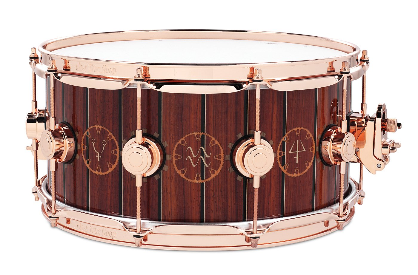 """6.5x14"""" """"The Time Machine"""" Neil Peart Rush Icon Series Snare Drum"""