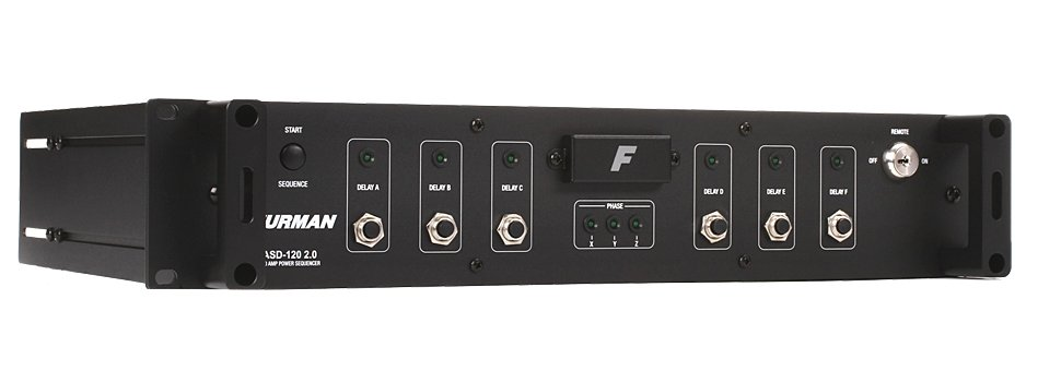 Furman ASD-120 AC Sequenced Power Distributor, 120A ASD-120-2.0