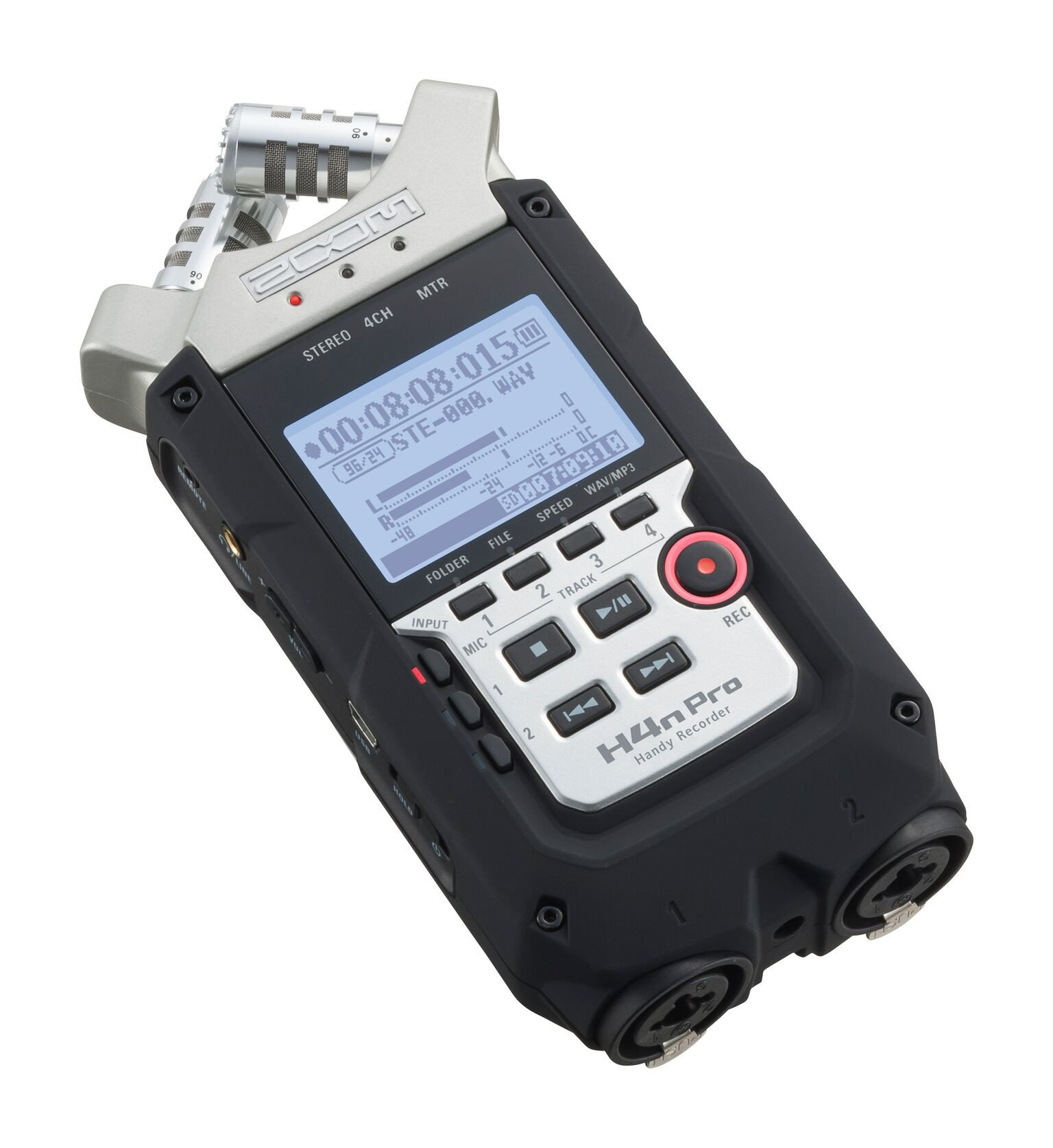 Handheld 4-Track Recorder
