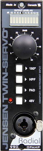 Mic preamp, Jensen 990 Opamp, Dual Jensen Transformers