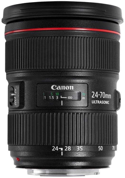 EF 24-70mm f/2.8 II USM Standard Zoom Lens