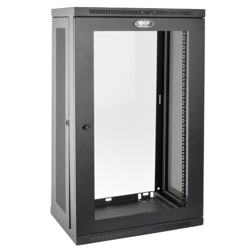 21RU SmartRack Wall-Mount Rack Enclosure Cabinet with Clear Acrylic Window