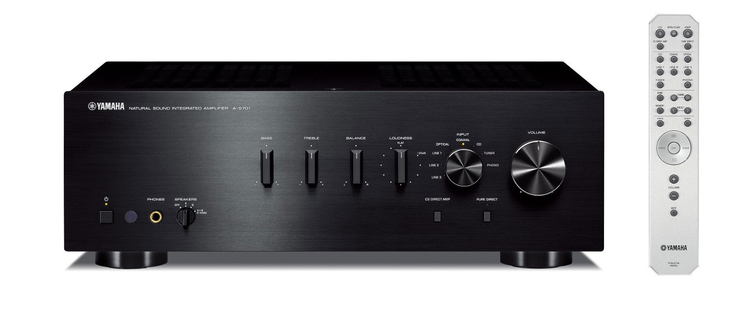 Integrated Hi-Fi Amplifier, Black
