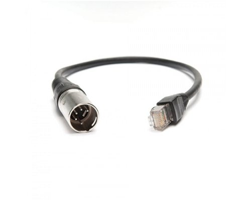 RJ45 to Male 5-Pin XLR adapter