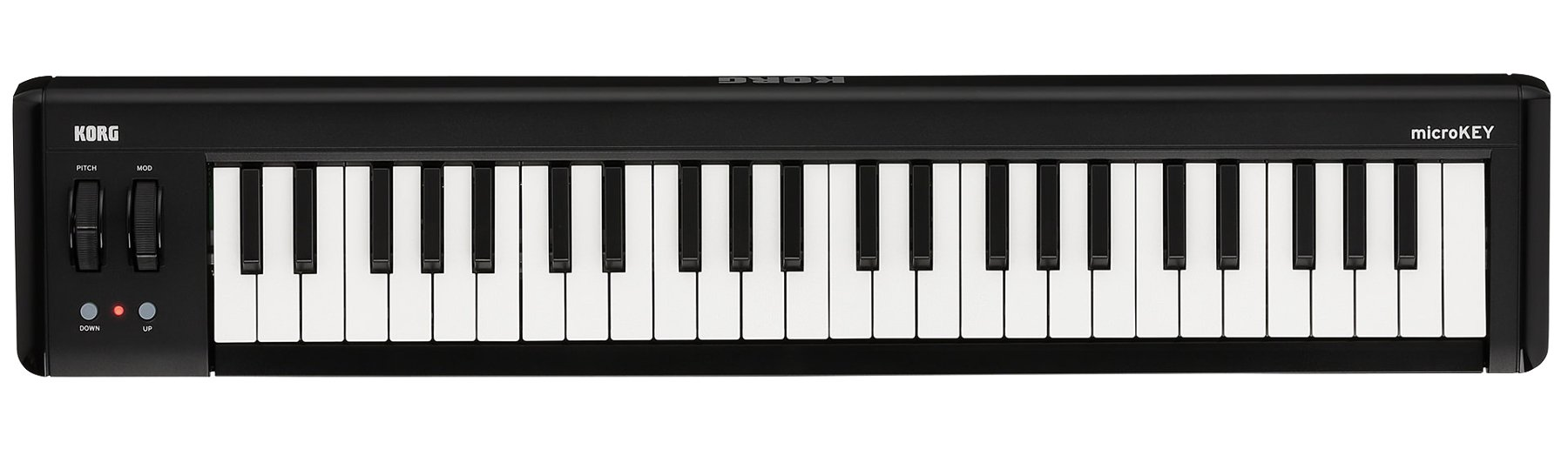 Korg microKEY2-49 49-Key iOS-Powerable USB MIDI Controller with Pedal Input MICROKEY-2-49