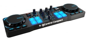 2-Channel DJ Controller With Jog Wheels