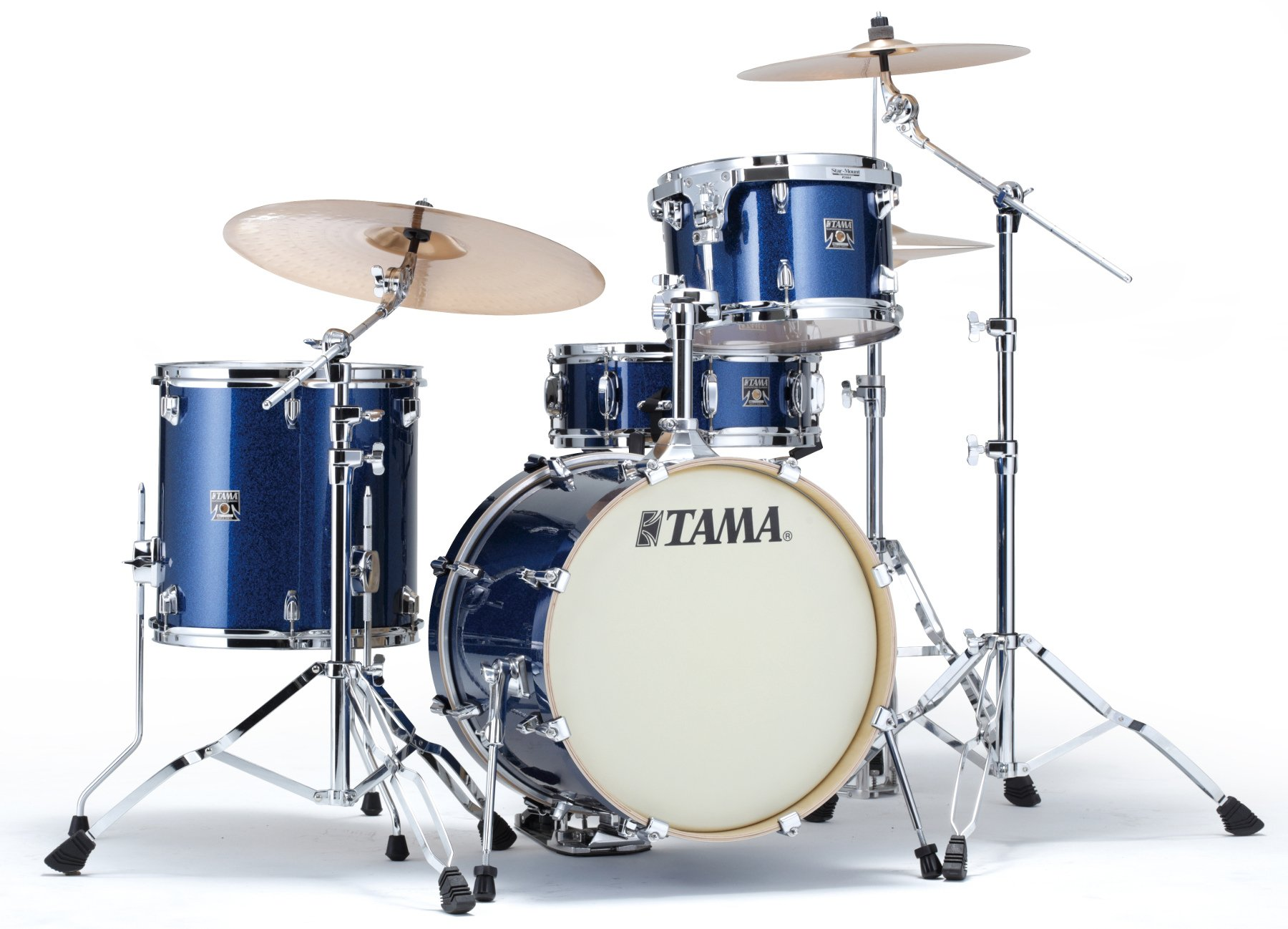 "Tama CK48S Superstar Classic 4-Piece with 18"" Bass Drum JAZZ, Unicolor Wrap CK48S"