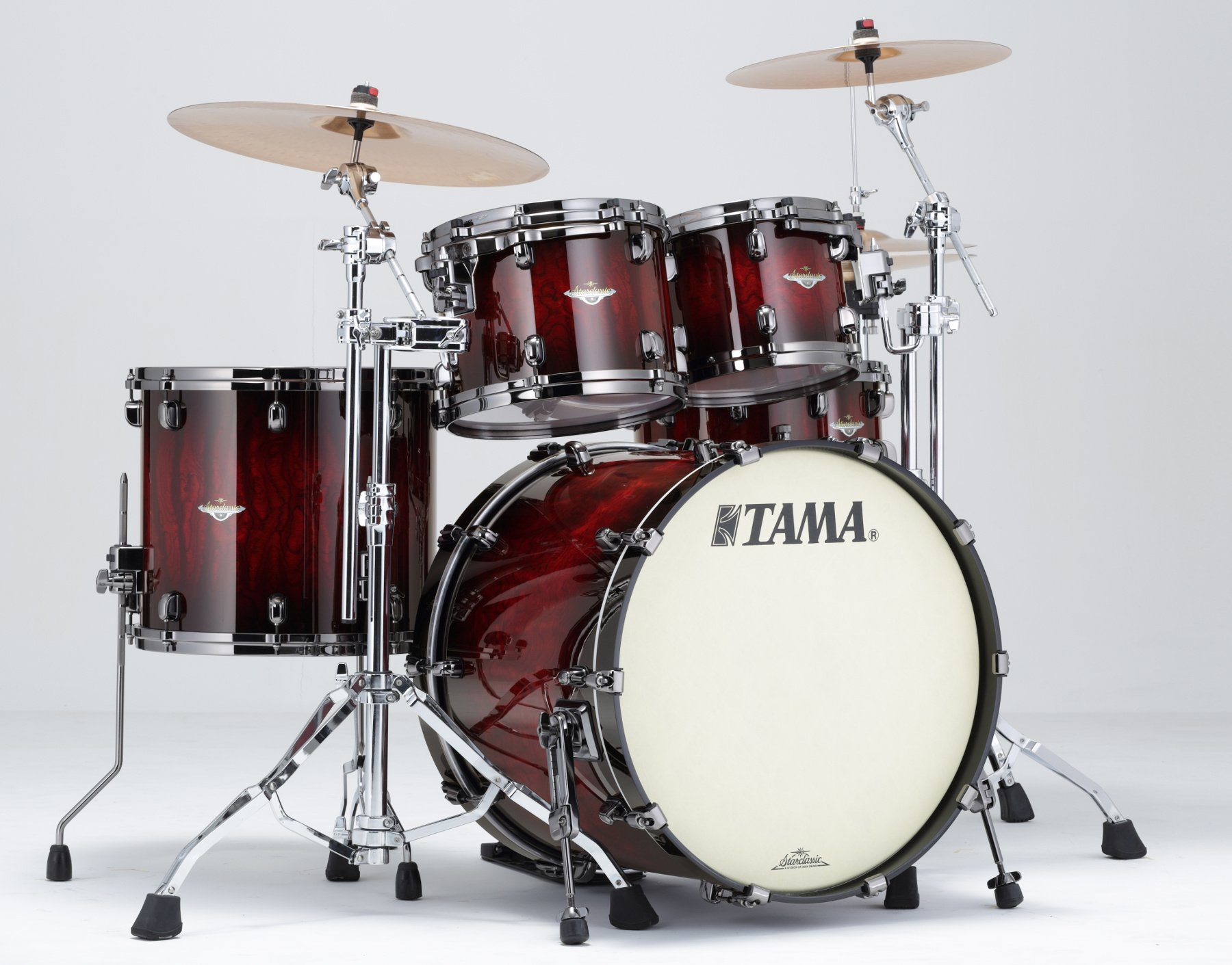Tama BE42ZBS 4-Piece Starclassic Bubinga Shell Pack BE42ZBS