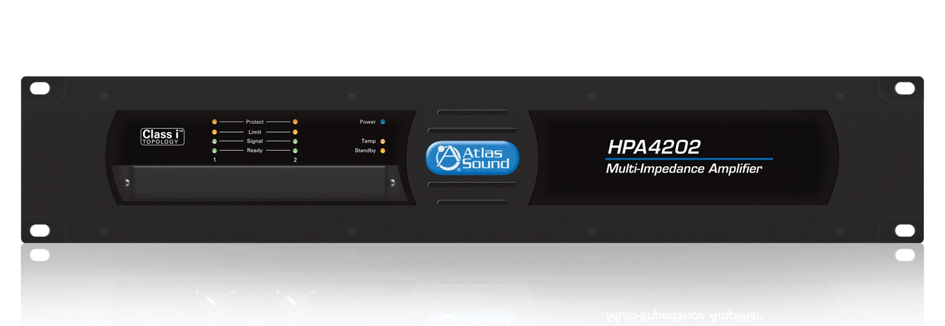Atlas Sound HPA4202  4800 W High Performance, Dual Channel Commercial Amplifier HPA4202