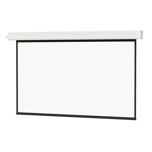 "Matte White, 52"" x 92"" Advantage® Deluxe Electrol® Projection Screen"