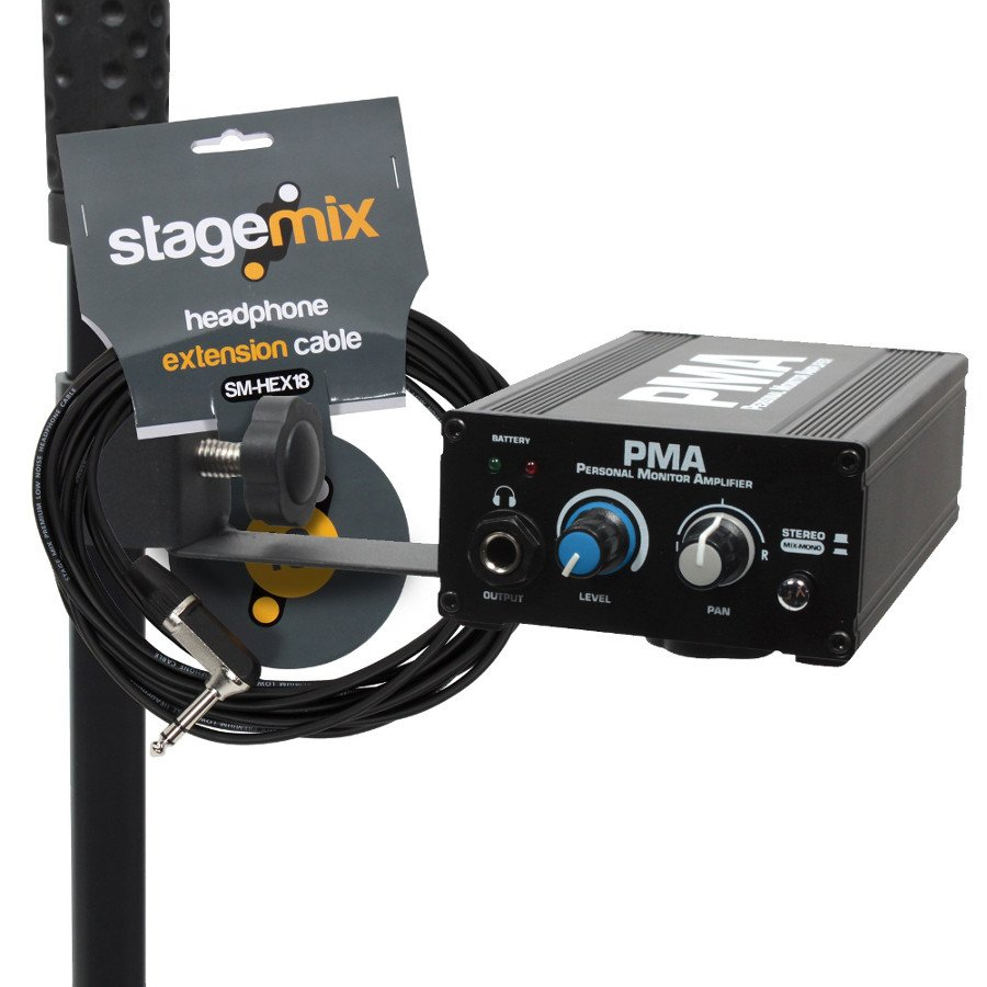 Station Pack With 18ft Cable And Stand Adaptor