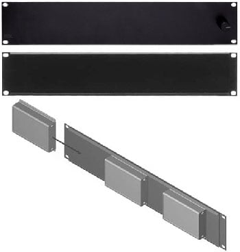 "Rack Adapter FLAT-PAK Series 19"" fixed"