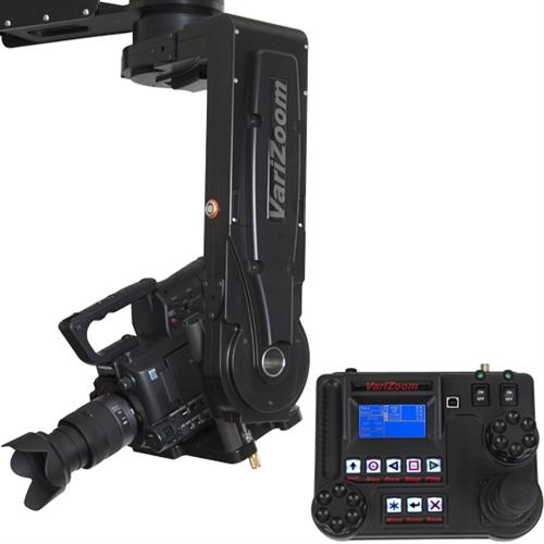 Camera Crane Camera Jib with Remote Motion Control Head