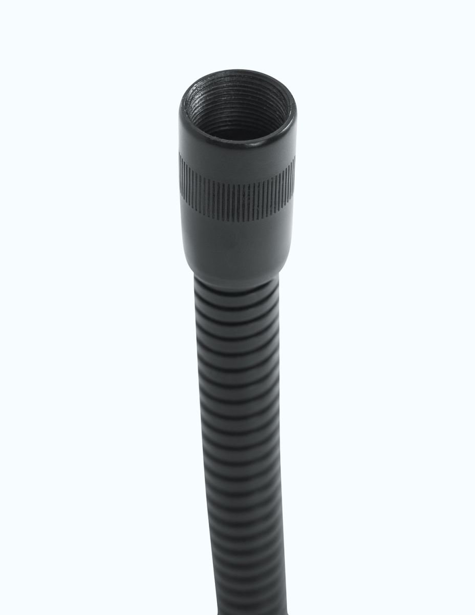 """Gator Cases GFW-MIC-GN6 Frameworks 6"""" Solid Steel Gooseneck with Black Finish GFW-MIC-GN6"""