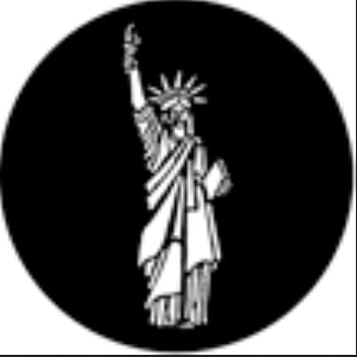 Statue of Liberty Steel Gobo