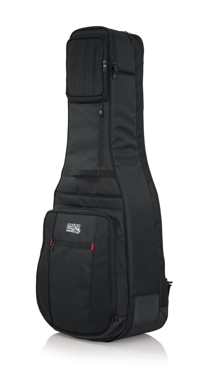 Pro-Go Series Double Guitar Bag for Acoustic & Electric Guitars