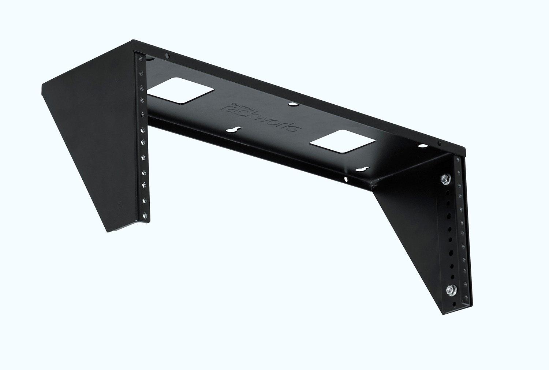 4RU Vertical Metal Wall Rack